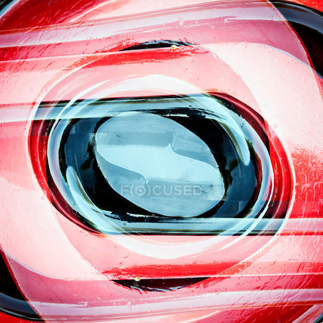 Abstract red and blue textured composition — Stock Photo