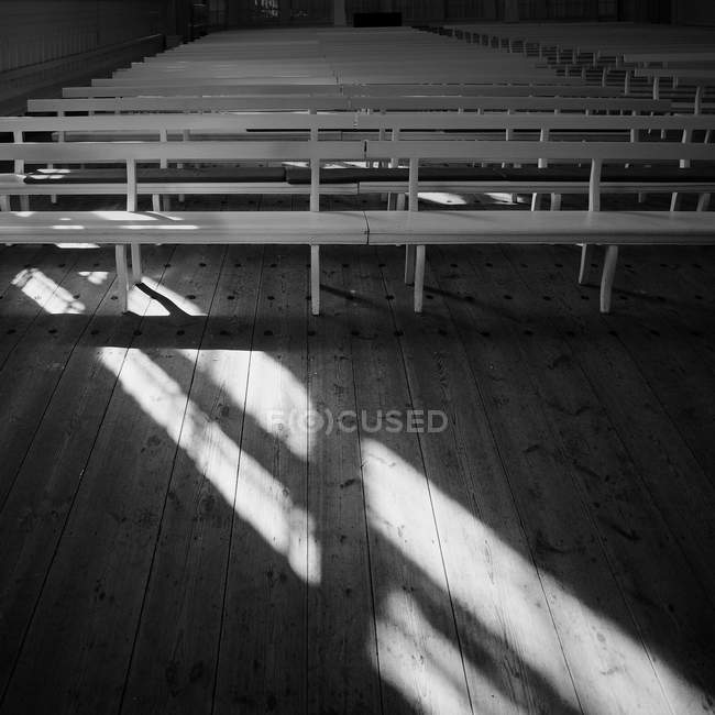 Surprising Benches Rows In Church High Angle View Black And White Alphanode Cool Chair Designs And Ideas Alphanodeonline