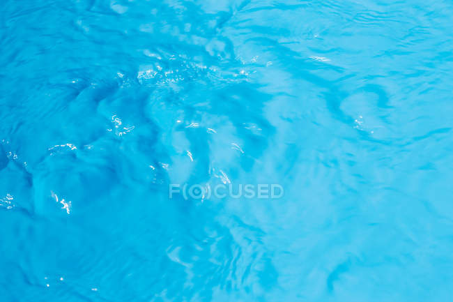 Blue water with ripples — Stock Photo