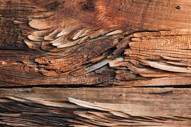 Brown wooden structure details — Stock Photo