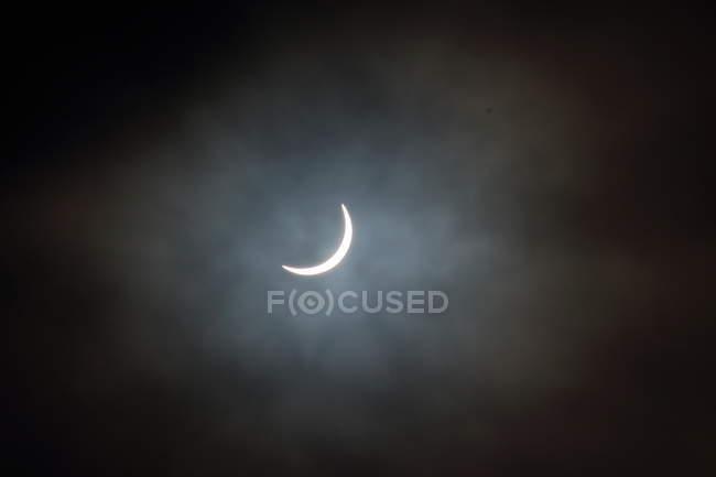 Bright moon Nachthimmel — Stockfoto