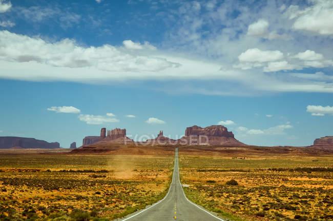Route de Badlands — Photo de stock