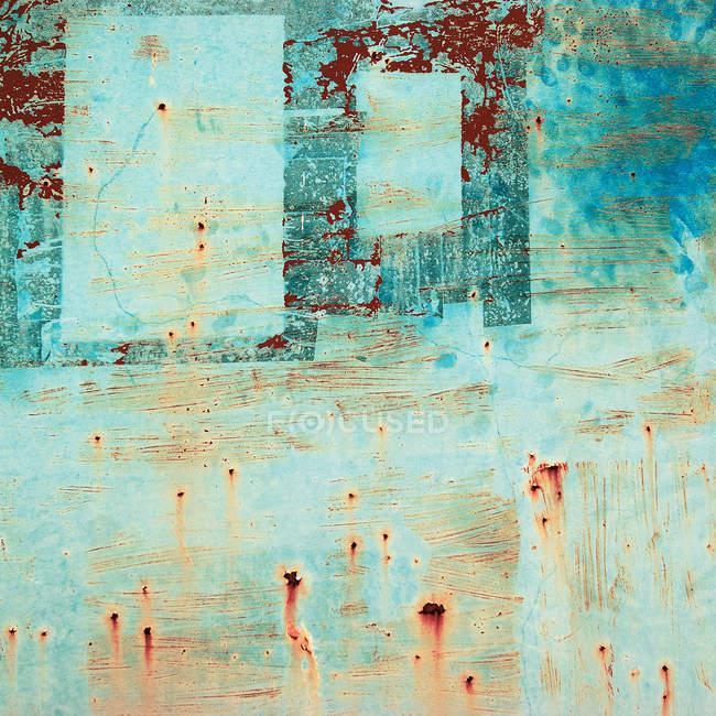 Абстрактная структура, старый красочные стены с абстрактным узором — стоковое фото