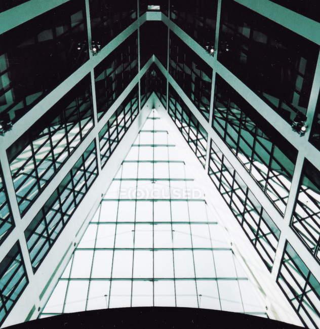 Detalhes do edifício de arquitectura moderna — Fotografia de Stock