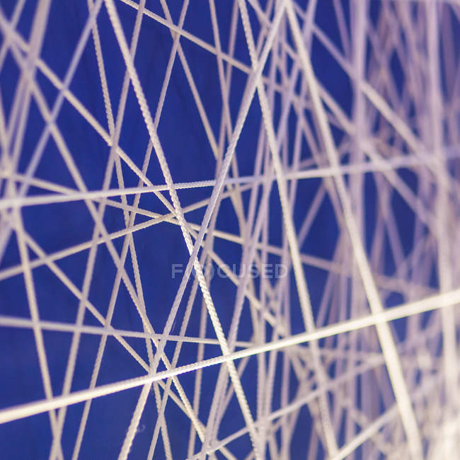 Abstract textured backdrop with muddled strings — Stock Photo