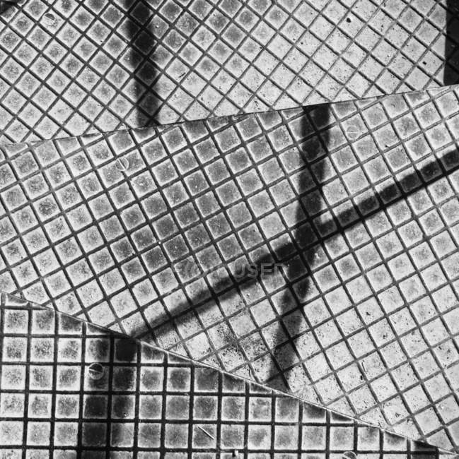 Detalhes de estrutura de arquitetura moderna e abstrata de vidro — Fotografia de Stock