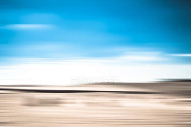 Abstrakte Landschaft-Bewegungsunschärfe — Stockfoto