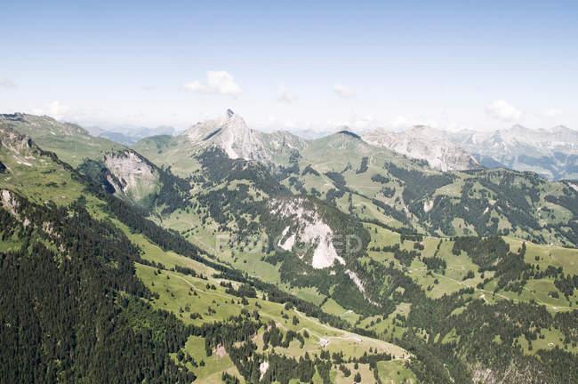 Beautiful Alp Mountains, switzerland — Stock Photo