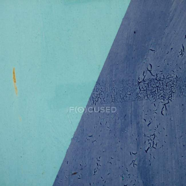Aging blue colored wall textured — Stock Photo