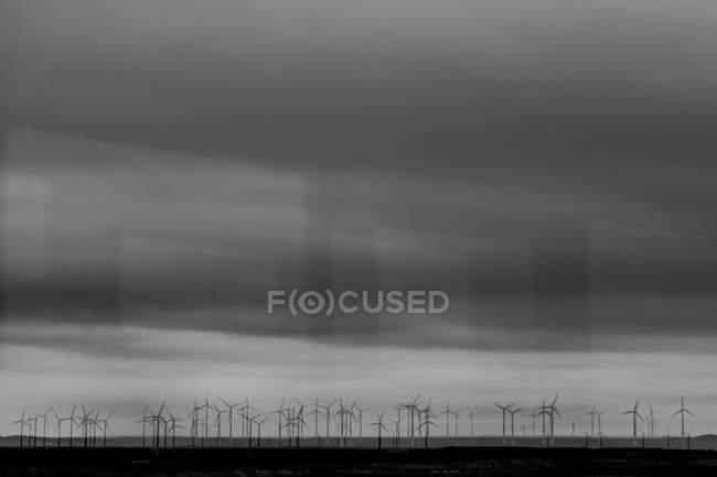 Windmühlen, die Erzeugung von Energie — Stockfoto