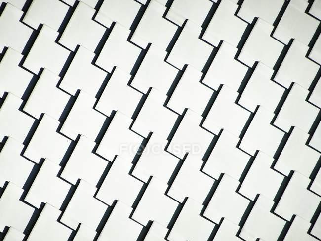 Абстрактный фон с рисунком фасада — стоковое фото