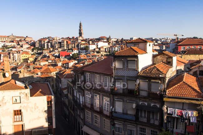 Porto old town cityscape — Stock Photo