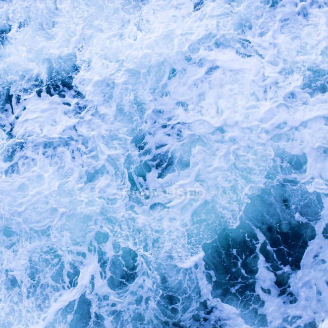 Surface de l'eau de mer Whirlpool — Photo de stock