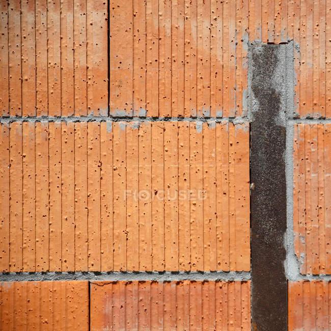 Строительство стены структуры с доски — стоковое фото