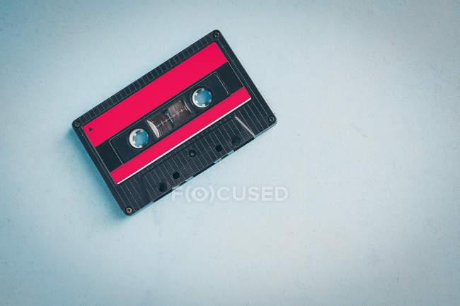 Altmodische Musikkassette, Studio gedreht — Stockfoto