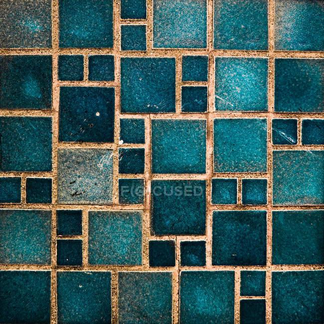 Зеленые плитки стены структуры — стоковое фото
