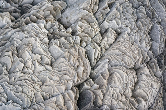 Close-up view of lava field — Stock Photo