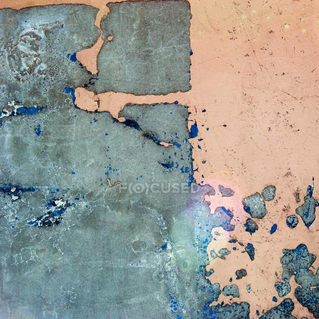 Parede de superfície pintada sujo — Fotografia de Stock