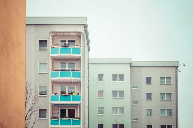Modern residential houses architecture — Stock Photo