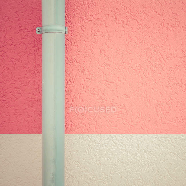 Close-up view of pink building wall — Stock Photo