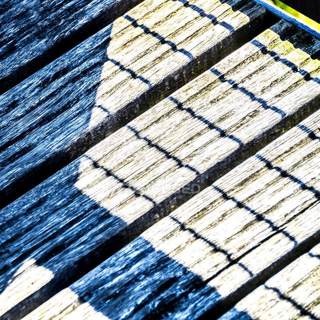 Nahaufnahme von Holzbrettern — Stockfoto