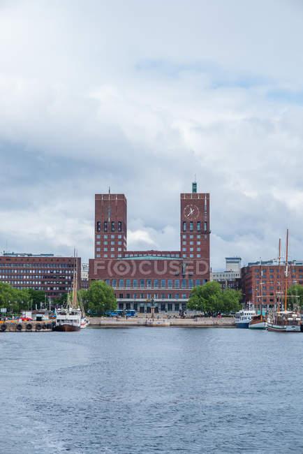 Institut Nobel norvégien à Oslo, Norvège — Photo de stock