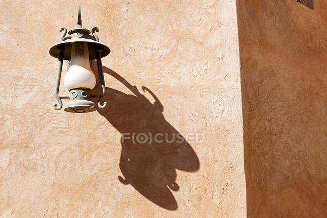 Антикварні лампи вулиці — стокове фото