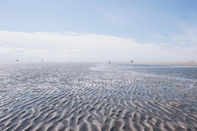 Vue mer de Sandy — Photo de stock