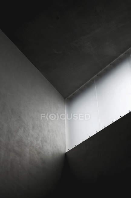 Coup de feu intérieur architecture bâtiment — Photo de stock