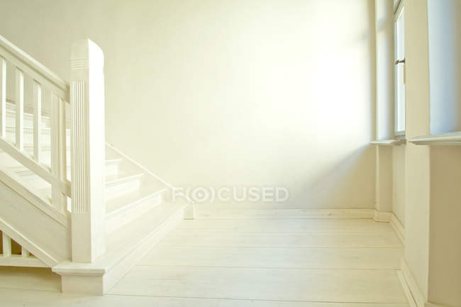 Cropped view of stairs in building — Stock Photo