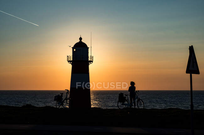 Lighthouse of Westkapelle  in Netherlands — Stock Photo