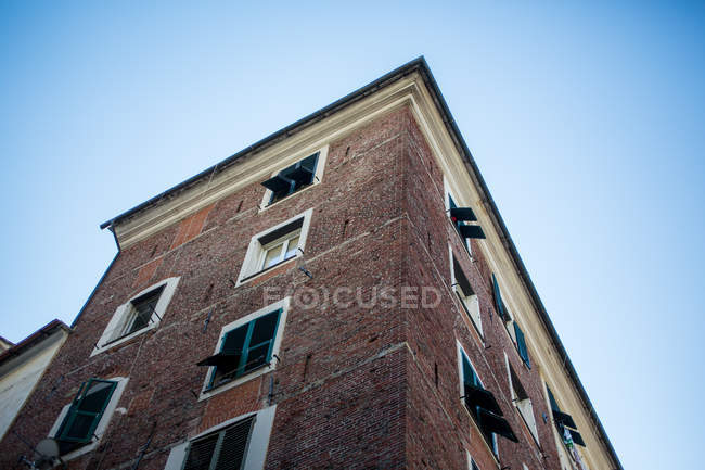 Bricks wall texture of  building — Stock Photo