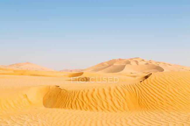 Duna no deserto velho de Omã — Fotografia de Stock