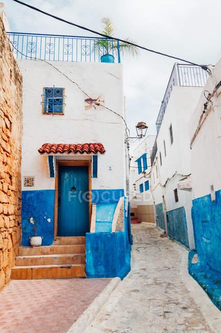 Вид улицы в Старом городе Марокко — стоковое фото