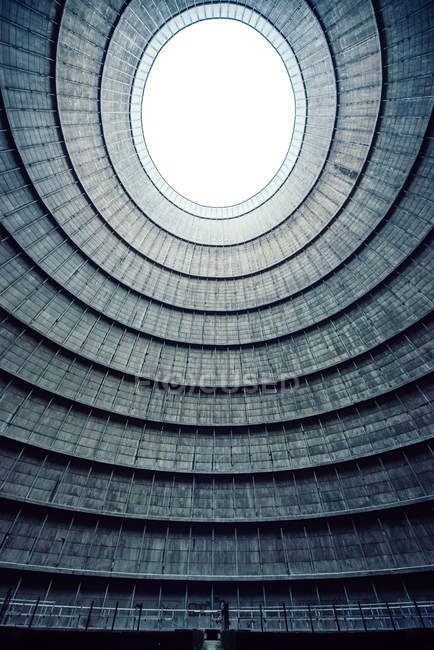 Coal power station cooling tower — Stock Photo