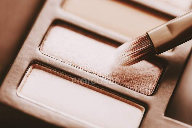 Eye Shadow Color Palette — Stock Photo