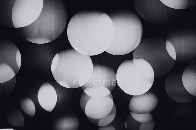 Gray round glittering circles — Stock Photo