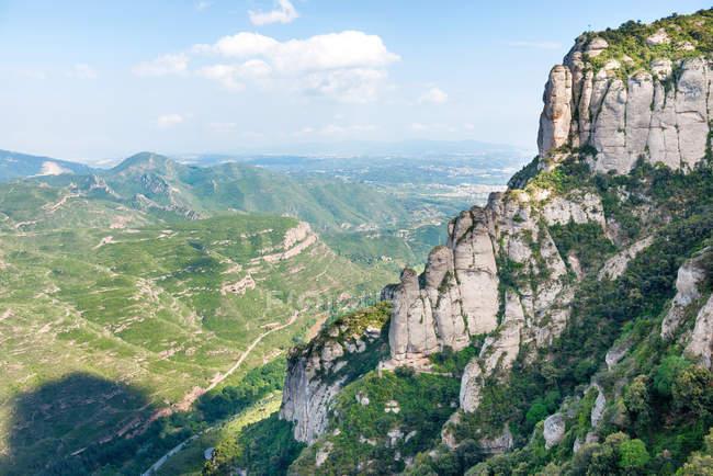 Berühmten Berg Montserrat — Stockfoto