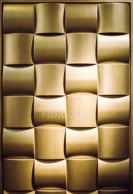 Золотой фон с квадратами — стоковое фото
