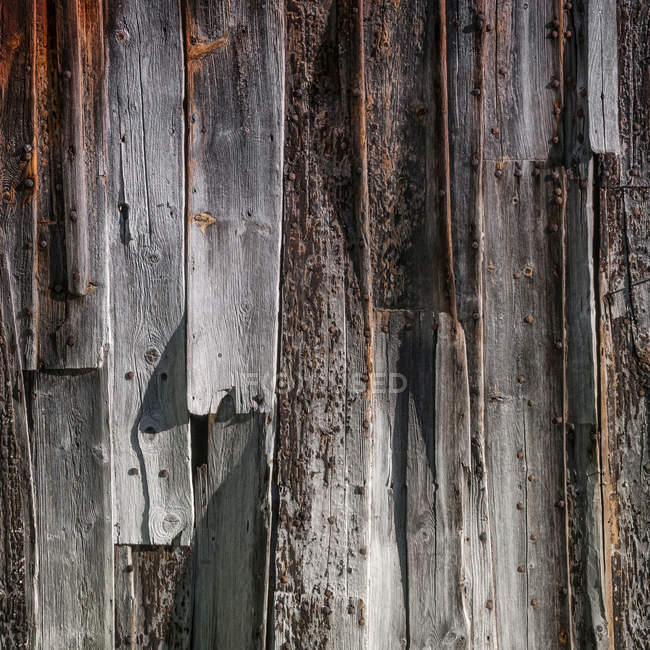 Old rusty wooden wall — Stock Photo