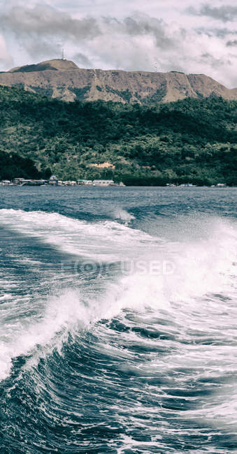 Seascape with pacific ocean — Stock Photo