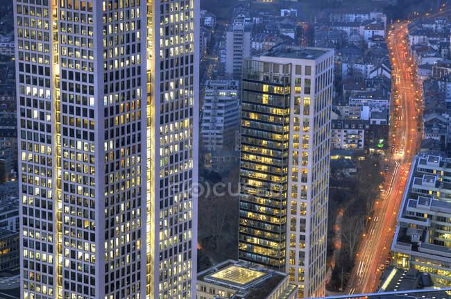 Modern buildings facades — Stock Photo