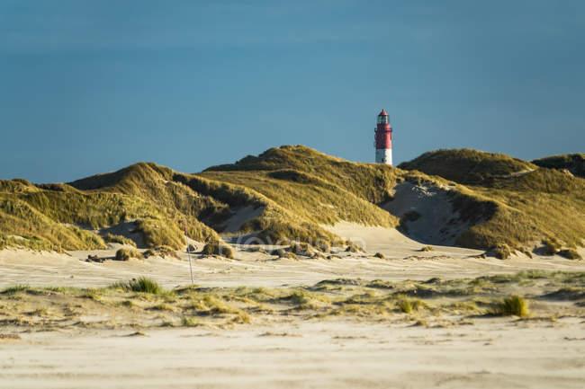 Пейзаж сцена с маяка — стоковое фото