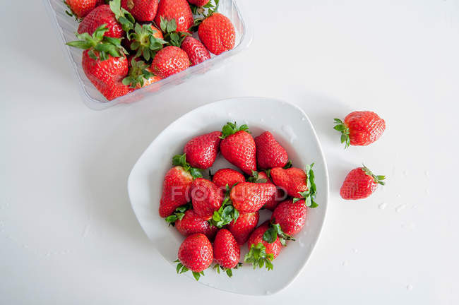 Fragole mature — Foto stock
