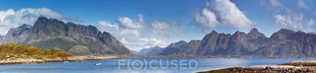 Norwegen-Landschaft, panorama — Stockfoto
