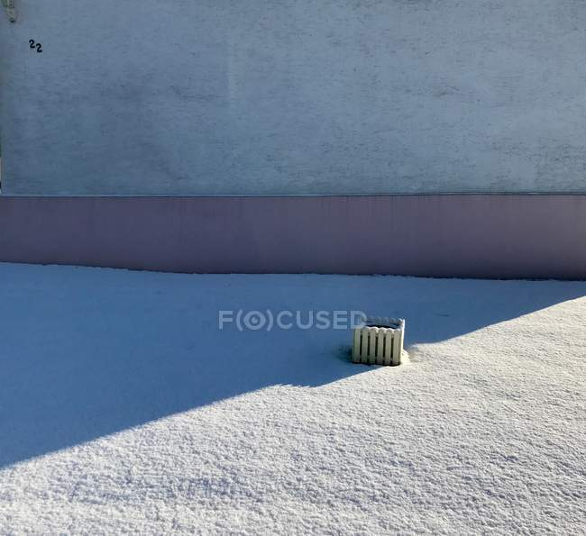 Costruzione di edifici architettura esterna, con ombra — Foto stock