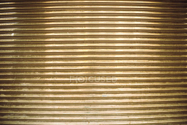 Golden striped background wall — Stock Photo