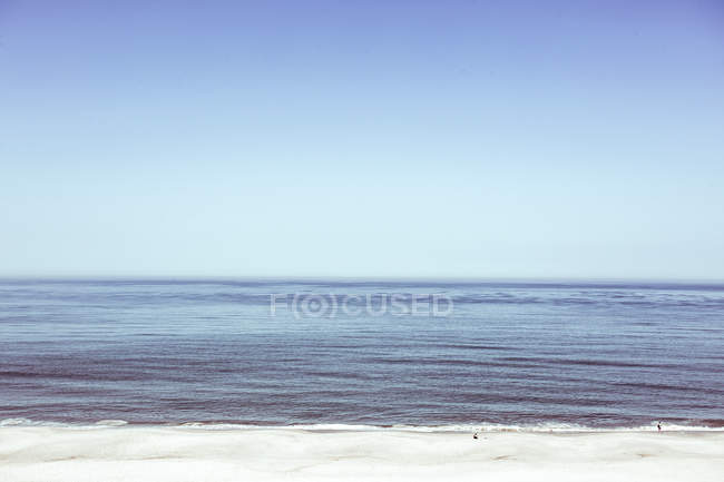 Seascape  in sunny daytime — Stock Photo