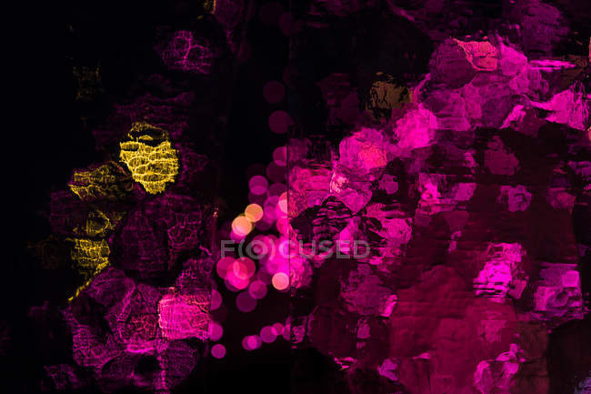 Pink yellow abstract art wallpaper — Stock Photo