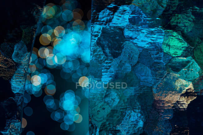 Blue abstract art wallpaper — Stock Photo